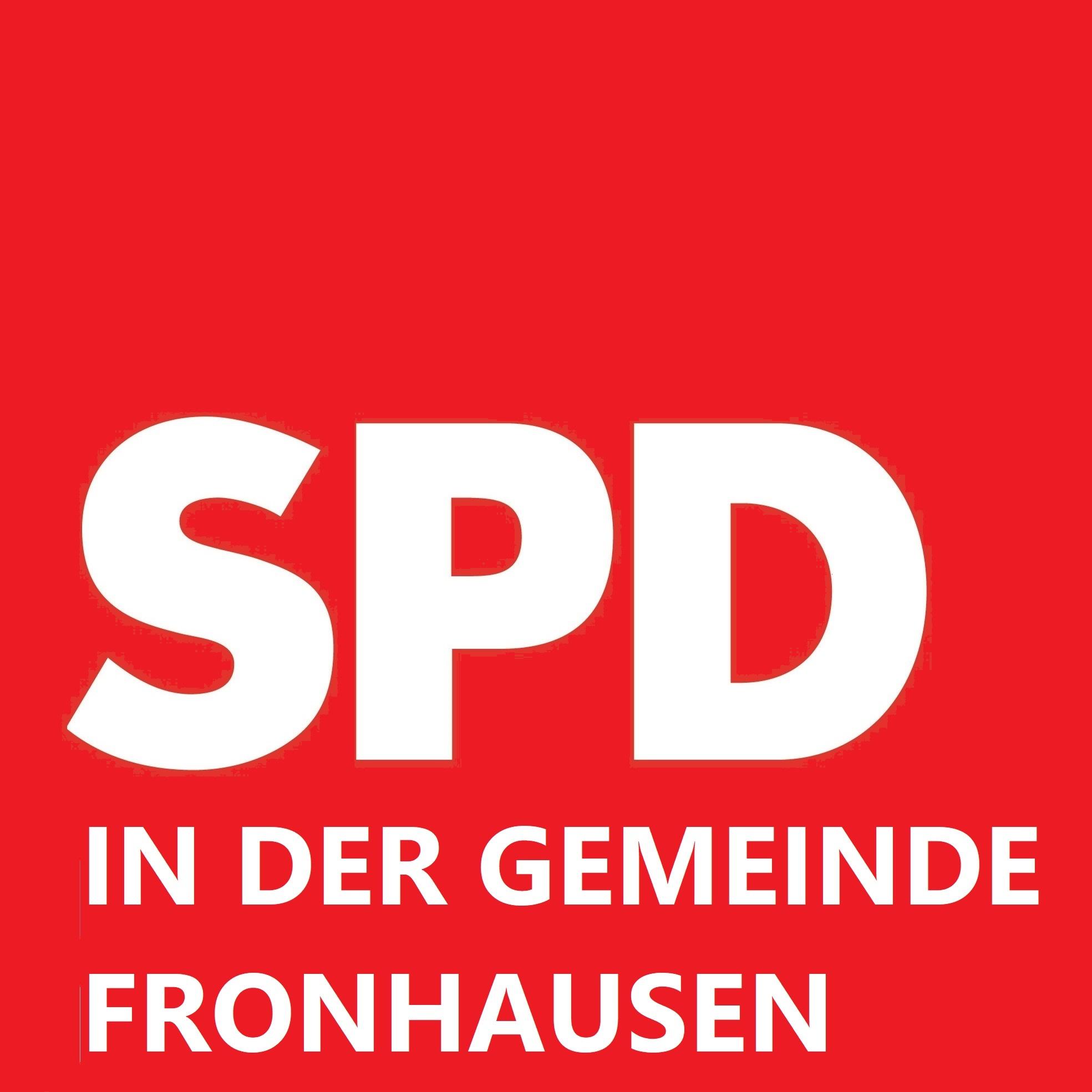 Logo: SPD - Gemeinde Fronhausen